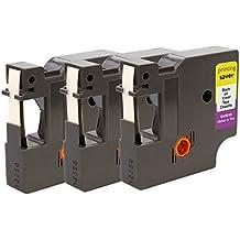 Easy Print Serie 5x Premium Schriftbänder für Dymo 45013 S0720530 Kassetten