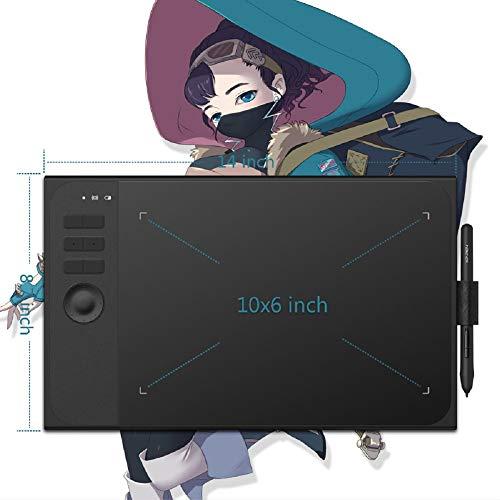QWERTOUY Grafici dell'illustrazione Tablet con