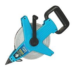 Scarlet Tools | Maßband »Professional« mit 50 m Länge x 13 mm Breite; glasfaserverstärktes Rollmaßband; doppelseitig markiert; mit Öse und Handkurbel