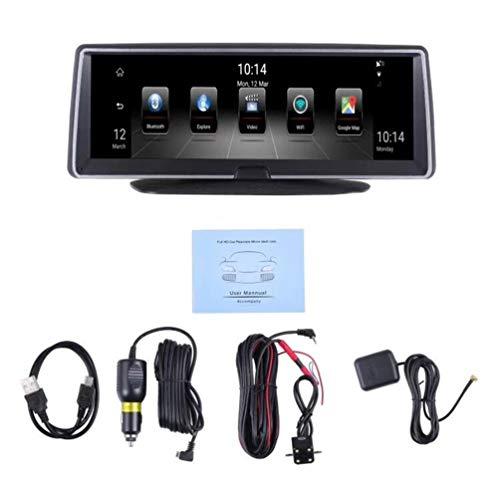 7,84 Pouces d'autoradio GPS de Navigation Quadruple Noyau écran capacitif Écran Tactile stéréo Bluetooth WiFi Android 5.0 - Noir