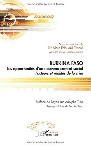 Burkina faso les opportunités d'un nouveau co...