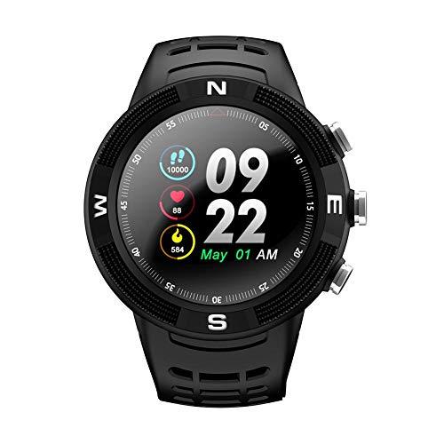 F18 1.3 'Smartwatch IP68 Wasserdicht Sport Bluetooth 4.2 Fitness Smart Watch GPS Schrittzähler Pulsüberwachung Schlafmonitor