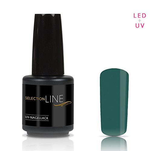 Selection Line Vernis à ongles Forest Green 15 ml UV Premium Gel Nail Polish 7ml Nail Art
