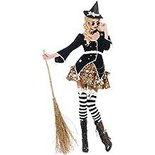 SMIFFYS Costume Halloween Carnevale da Strega Steampunk - orrore donna sexy aedd6a497ff1