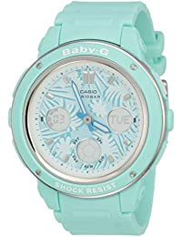 Casio Baby-G Analog-Digital Green Dial Women's Watch - BGA-150F-3ADR (B155)
