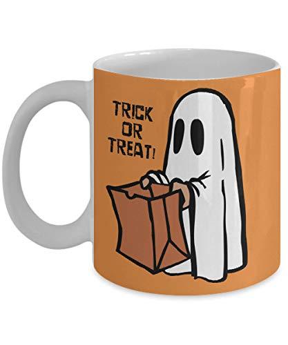 (Andrea1Oliver Halloween Becher Herbst Dekor Ghost Halloween Dekor Fall S¨¹?es oder Saures K¨¹rbis Halloween Fall Becher Keramik Kaffeetasse)