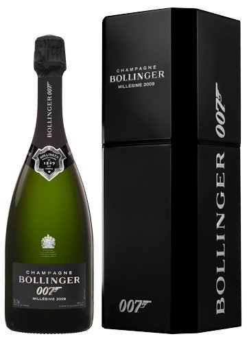 Bollinger La Grande Annee Brut James Bond 007 Edition 2009 (1 x 0.75 l)