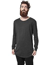 Urban Classics TB1101 Herren Langarmshirt Shaped Fashion Long Sleeve Tee