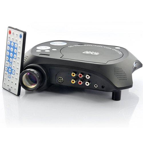 LED Multimedia Beamer DVD Player
