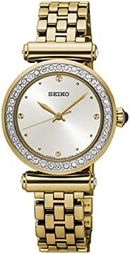 سيكو ساعة للنساء بمينا وسوار ستانلس ستيل - SRZ468P1