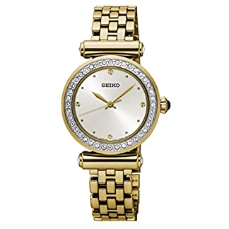 Seiko Analog White Dial Women's Watch-SRZ468P1