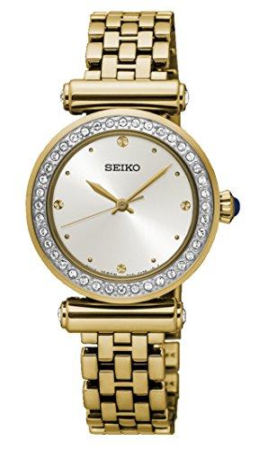 Seiko Analog White Dial Women's Watch - SRZ468P1