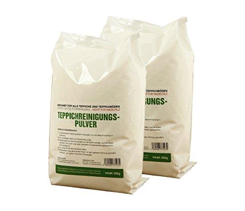 Tappeto McFilter pulizia polvere | Adatto per tutti i tappeti e tappeto pavimenti, nonché per la pulizia imbottitura | Da McFilter, 2 Packungen