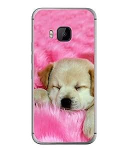 PrintVisa Cute Pet High Gloss Designer Back Case Cover for HTC One M9 :: HTC One M9S :: HTC M9