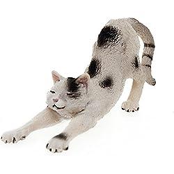 Schleich 13677 - Figura/ miniatura Gato, que se extiende