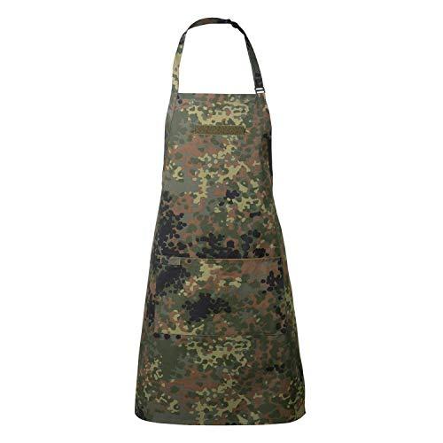 ürze & Kochschürze Premium Männer Geschenke zum Grillen Camouflage Küchenschürze mit KLETTSTREIFEN ()