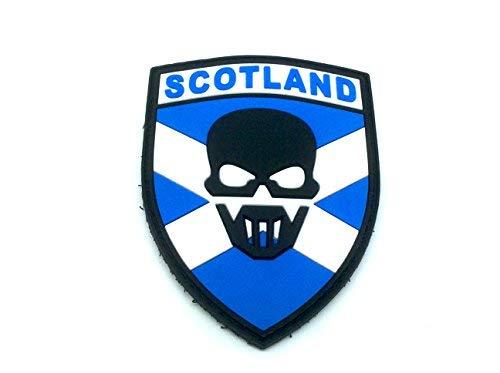 Escocia Escocés Recon Airsoft Paintball PVC parche
