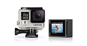 GoPro HERO4 Silver Edition Adventure Videocamera 12 MP, 4K/15 fps, 1080p/60 fps, 720p/120 fps [Italia]
