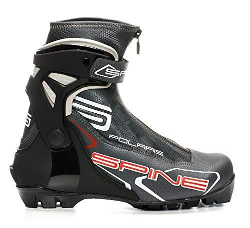 Spine Polaris Langlauf Skating Skischuhe Skistiefel für NNN Bindung (43) (Nnn Schuhe Langlauf)