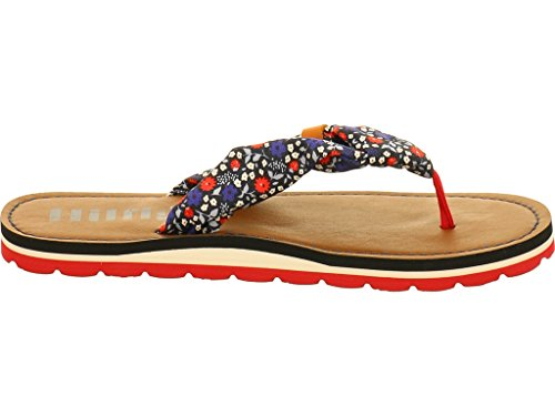 Tommy Hilfiger Marlow 10D1 Lucie Mini Floral Textile Flip Flops Lucie Mini Floral