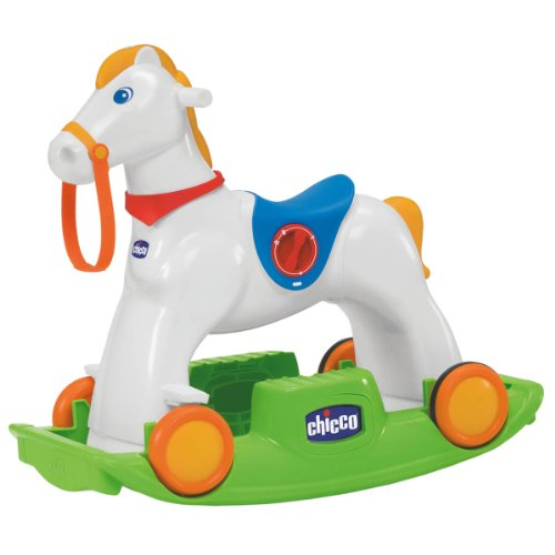 Chicco 70603 - chicco rodeo gioco cavalcabile 3 in 1, multicolore