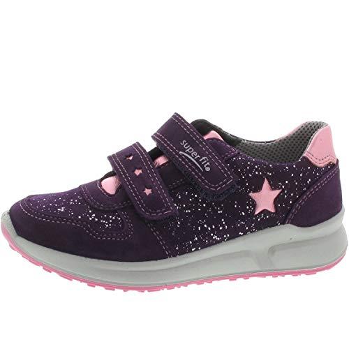 Superfit Mädchen Merida Sneaker, Violett (Lila/Rosa 90 90), 28 EU