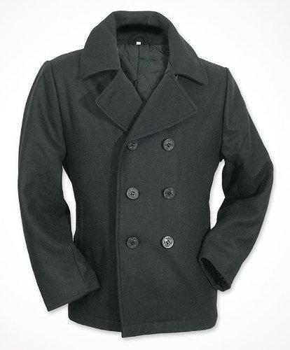 Surplus Herren PEA Coat, Schwarz, XL