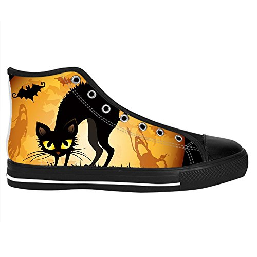 Dalliy s¨¹?e katze Kids Canvas shoes Schuhe Lace-up High-top Footwear Sneakers C