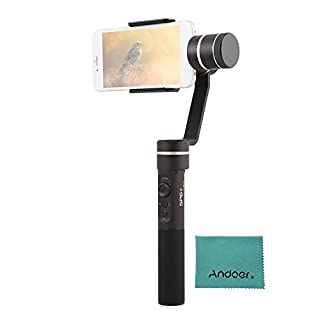 FeiyuTech SPG C 3-Achsen selfie stick Stabilisierter Vertikal & Horizontale Aufnahme Manuelle Fokus-Gesichtsverfolgung Unterstützung Panorama und Zeitraffer Fotografie für 50mm-80mm Breite Smartphones