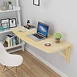 Love-zhuozi Faltbarer Wand-Schreibtisch-Kiefer Wandmontierter Faltbarer Tisch Computer-Schreibtisch gegen Wand-Stehtisch (größe : 100 * 50cm)