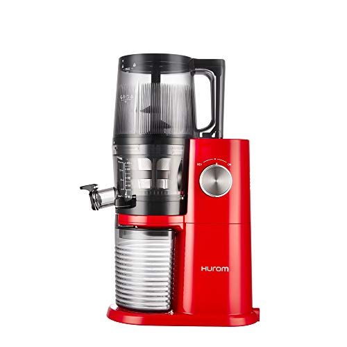 Hurom One Stop h-ai Slow Juicer 200 W Red, Stainless Steel - Juice Makers (Slow Juicer, Red, Stainless Steel, 60 RPM, 0.5 l, Rotary, 200 W)