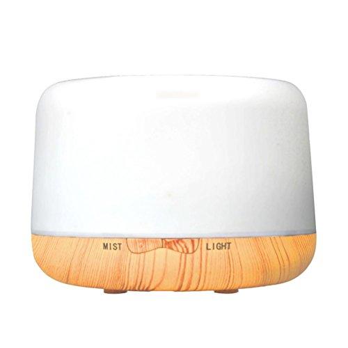 CFZHANG 250ML Holzbefeuchter ätherisches Öl Aromatherapie Maschine Diffusor leise Luftreiniger bunte Nachtlicht Schlafzimmer schwangere Frauen verwenden Geschenke , european regulations