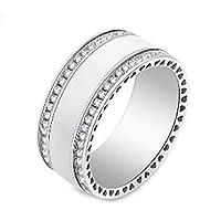 White Fashion Ring for Women