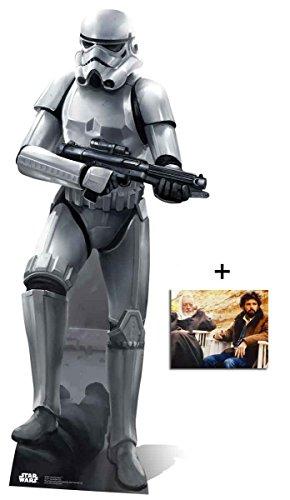 Stormtrooper Battle Pose Lebensgrosse Pappaufsteller - mit 25cm x 20cm foto