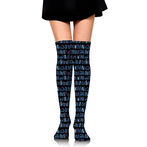 XIUZHIZH Women Teens Girls Over Knee Thigh High Boots Socks Tube Leg Warmers Stocking Cotton Cosplay Long Comfortable Leggings Classic Casual Books Bookstore Sock - Classic High Camo Boot