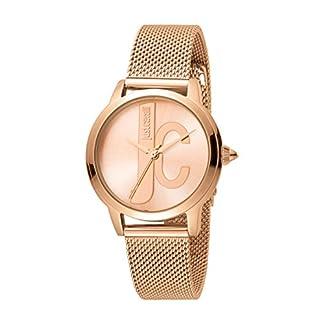 Just Cavalli Reloj Analógico para Mujer de Cuarzo con Correa en Acero Inoxidable JC1L050M0095