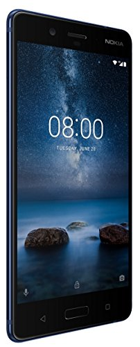 Nokia 8 (Polished Blue, 64GB)