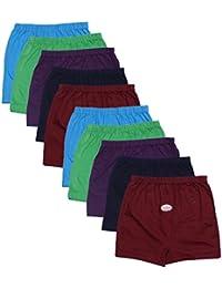 Esteem Girl's Cotton Drawer Panties - Set of 10