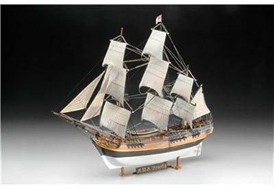 Revell Modellbausatz Schiff 1:110 - H.M.S. Bounty im Maßstab 1:110, Level 5, originalgetreue Nachbildung mit vielen Details, Segelschiff, 05404 von Revell
