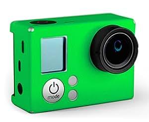XSories - XSKIN Autocollant Personnalisé pour GoPro Hero 3 et 3+ - GREEN 375U