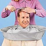 Kisshes Mantello per capelli Salone Barbiere Telo per capelli Taglio di taglio Ombrello Parrucchiere Cape per uso domestico e per il salone