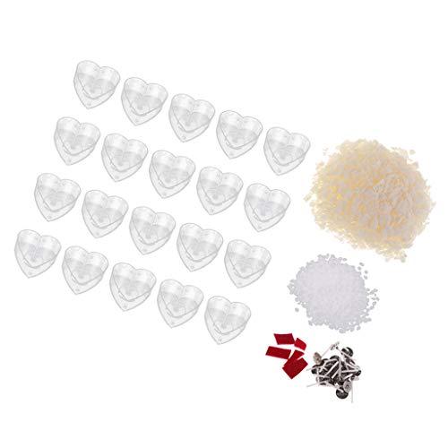 Non-brand Kit Fabricación Velas Té Molde Corazón