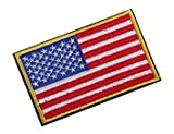 #2: Nalmatoionme New No Sew USA American Flag Cloth Embroiderd Patch Badge
