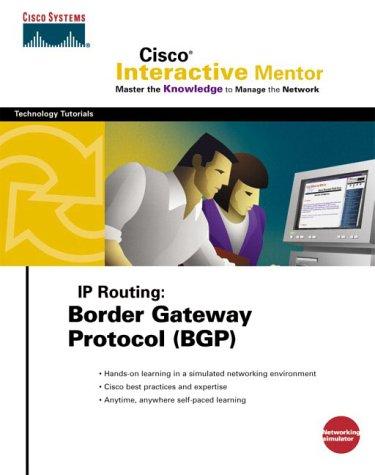 IP Routing, Border Gateway Protocol (BGP), CD-ROMFür Windows 98/Me/2000 -