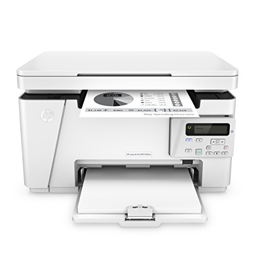 HP LaserJet Pro M26nw Laserdrucker Multifunktionsgerät (Schwarzweiß Drucker, Scanner, Kopierer, WLAN, LAN) weiß