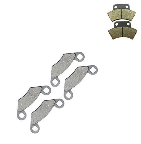 CNBK Semi Metallic Bremsbacken Pad Set for POLARIS ATV Bike 425 cc 425cc 2x4 4x4 Magnum 95 96 97 98 1995 1996 1997 1998 6 Pads