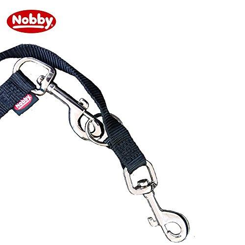 Nobby Führleine Classic, schwarz, Länge 2 m; Breite 20 mm - 3