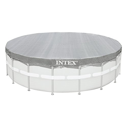 Intex Deluxe Pool Cover - Poolabdeckplane Deluxe - Ø 488 cm - Für Ultra Frame Pool
