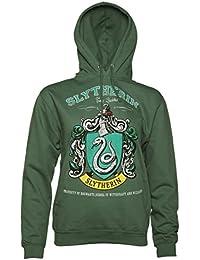 Sweat capuche femme Harry Potter quipe de Quidditch de Serpentard