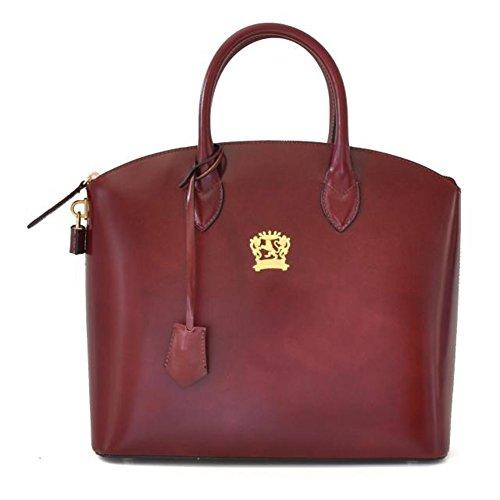 Pratesi Versilia R piccola borsa da donna - R348/P Radica (Ciliegia) Chianti